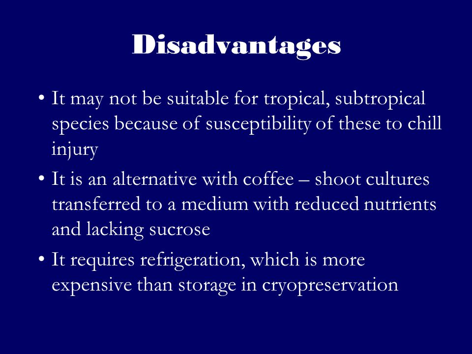 disadvantages of plant tissue culture pdf