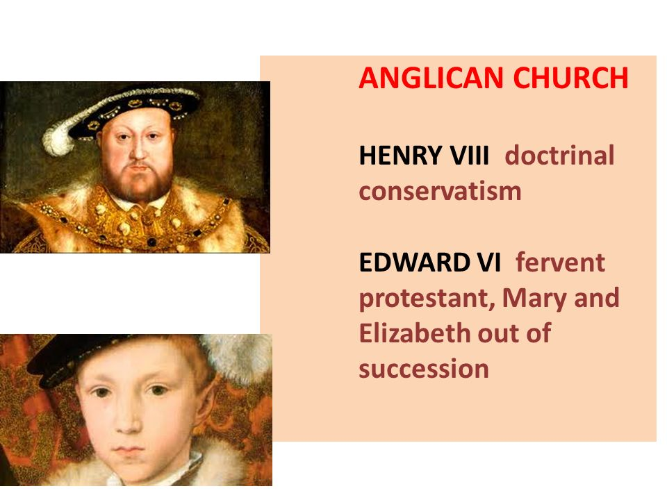 ANGLICAN CHURCH HENRY VIII doctrinal conservatism