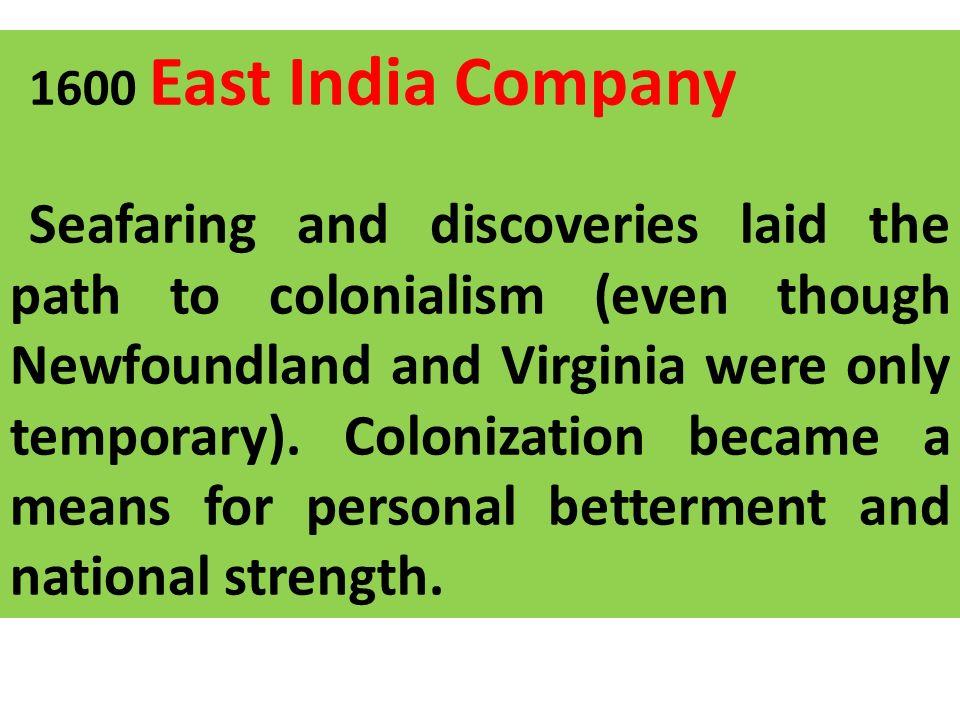 1600 East India Company