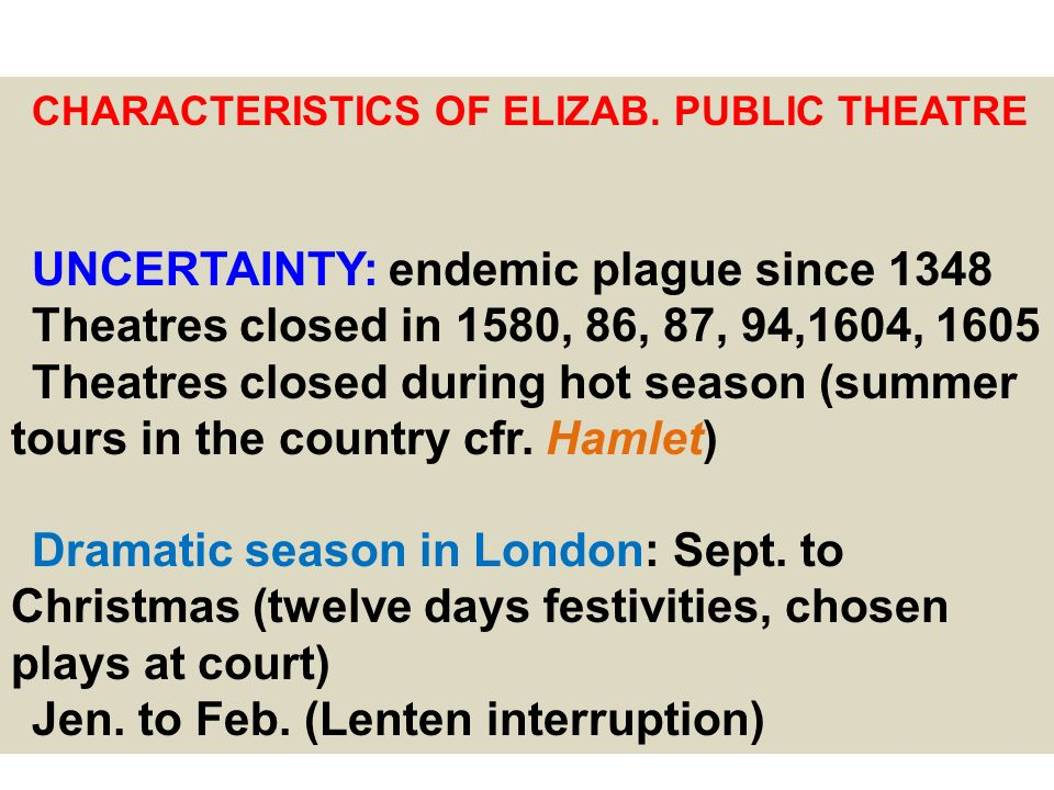 UNCERTAINTY: endemic plague since 1348