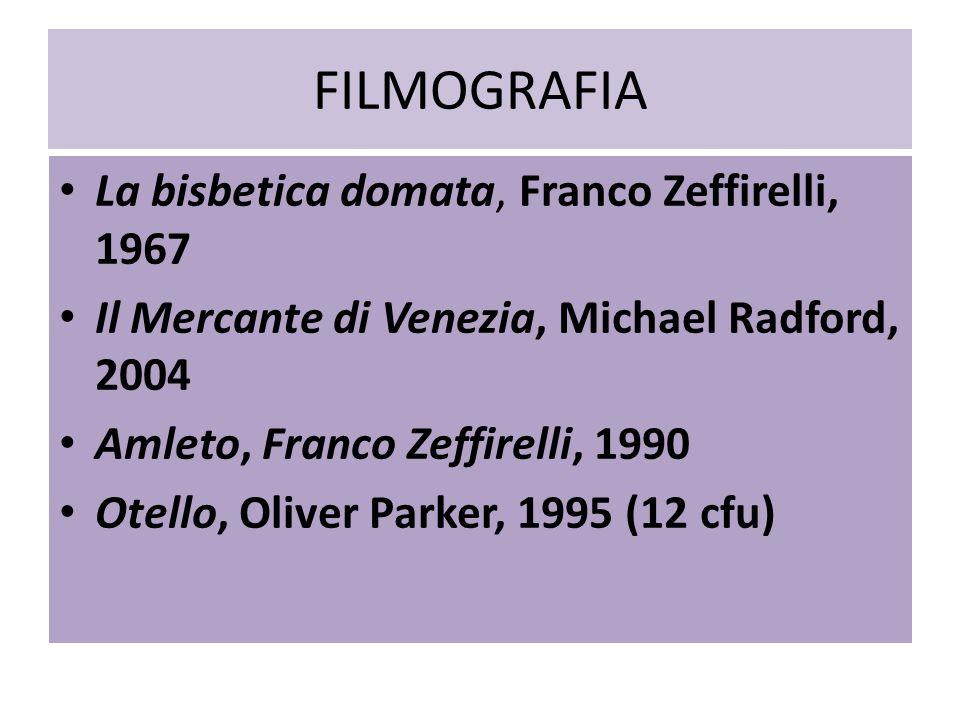 FILMOGRAFIA La bisbetica domata, Franco Zeffirelli, 1967