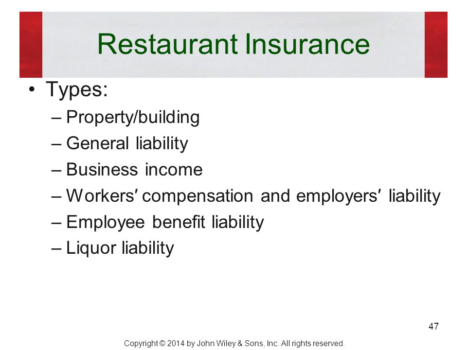 Chapter 15 financing and leasing ppt download for Insurance construction types