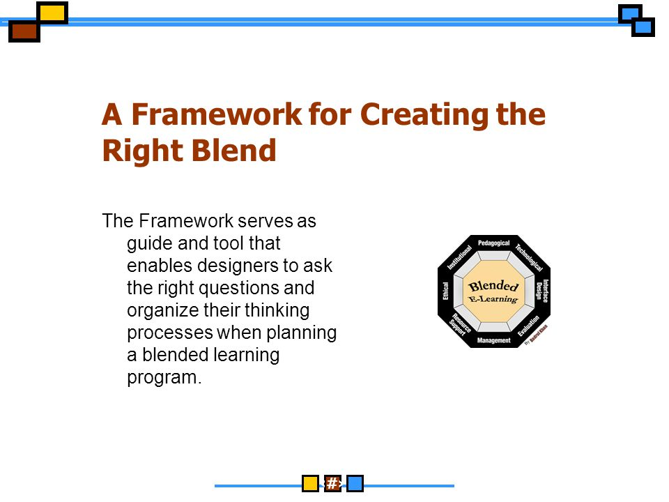 A Framework for Creating the Right Blend