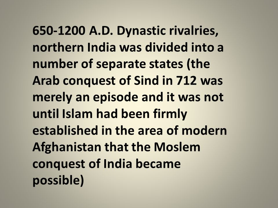 650-1200 A.D.