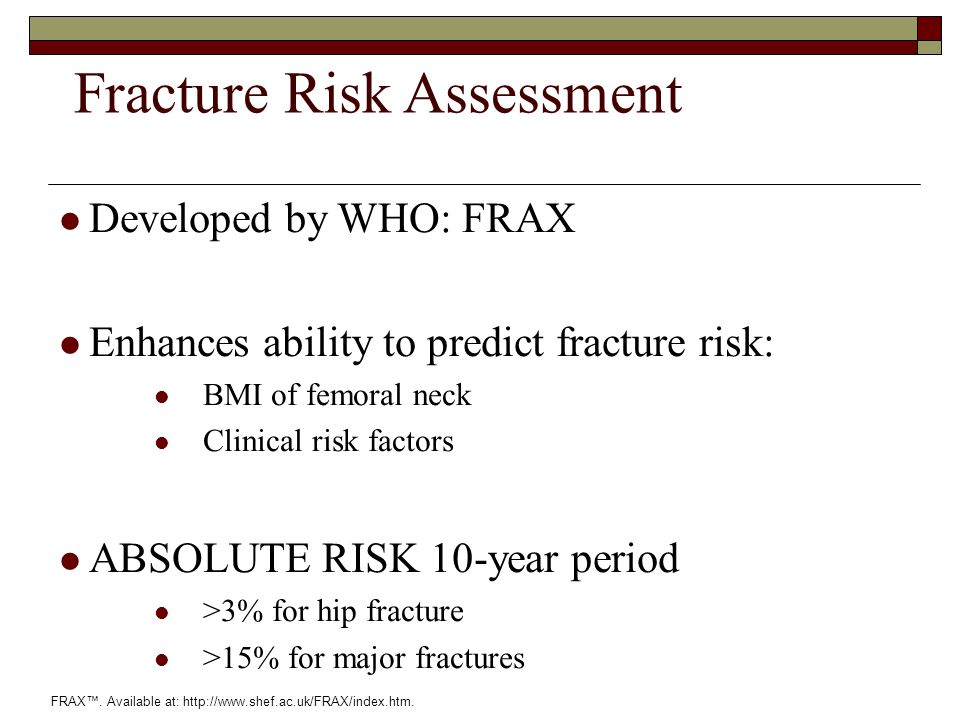 Strong summary of hip replacement risk assessment tool needed cost discussion