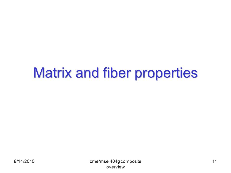 Composites An Overview Ppt Video Online Download