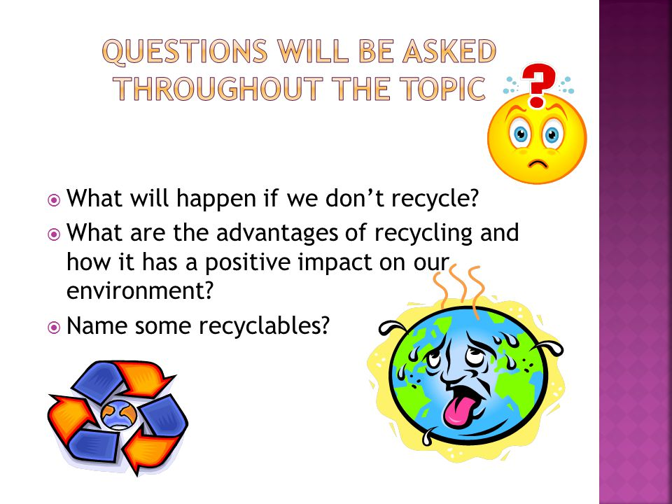 Questions will be asked throughout the topic