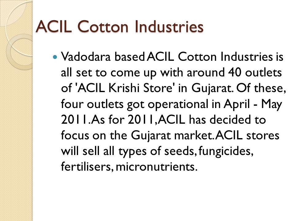 ACIL Cotton Industries