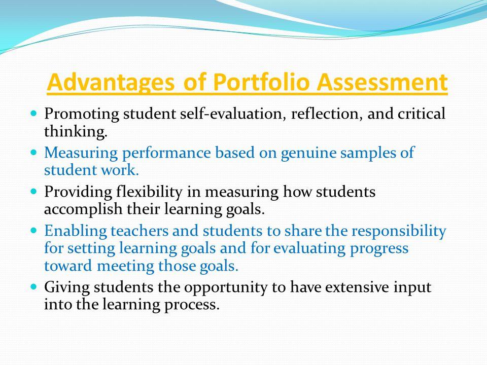 critical thinking portfolio