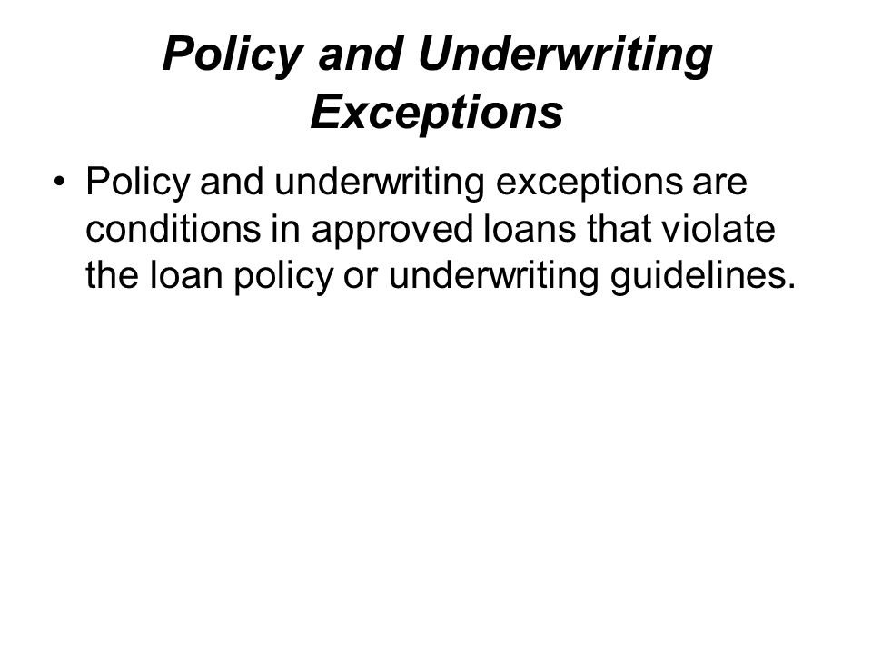 Step 3 – Underwriting and Clearing Conditions