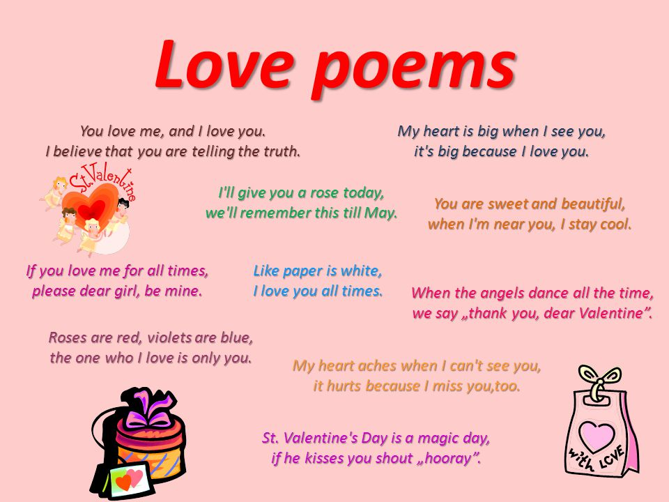 Charming 5 Little Valentines Poem Pictures Inspiration - Valentine ...