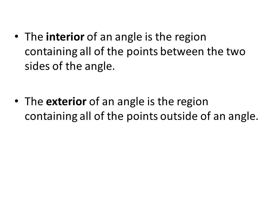the point where two sides of an angle meet