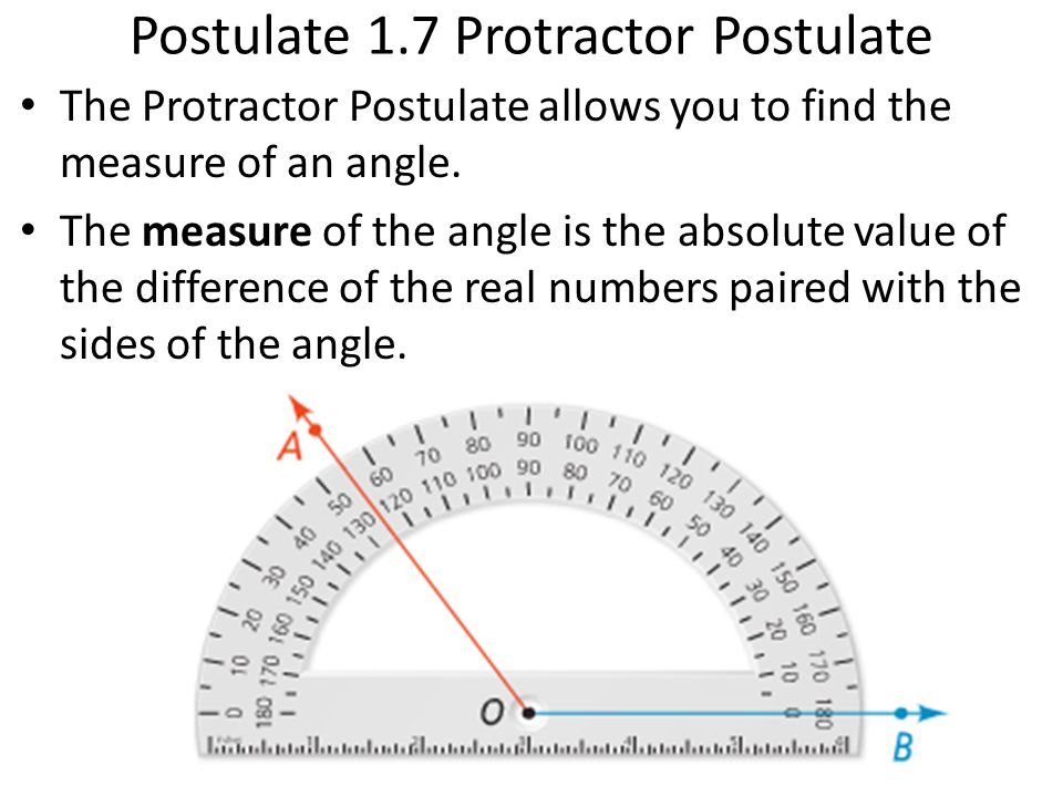 Measure Of An Angle : Measuring angles an angle is formed by two