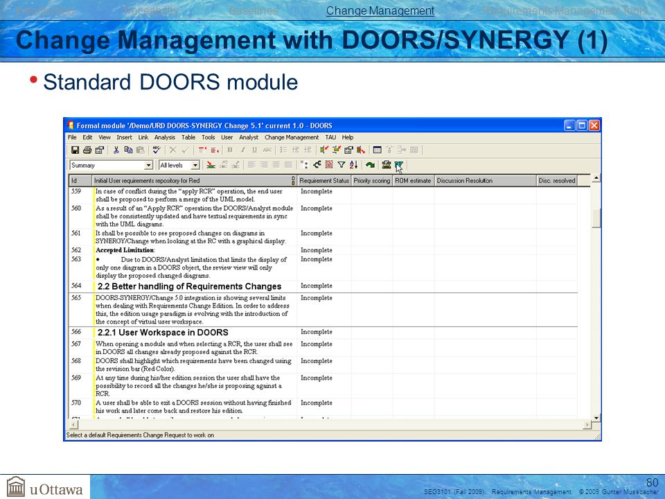 Change Management With DOORS/SYNERGY (1) Sc 1 St SlidePlayer  sc 1 st  pezcame.com & Doors Tool Ppt \u0026 Mobile Tool Cart With Clear View Doors Sc 1 St ...
