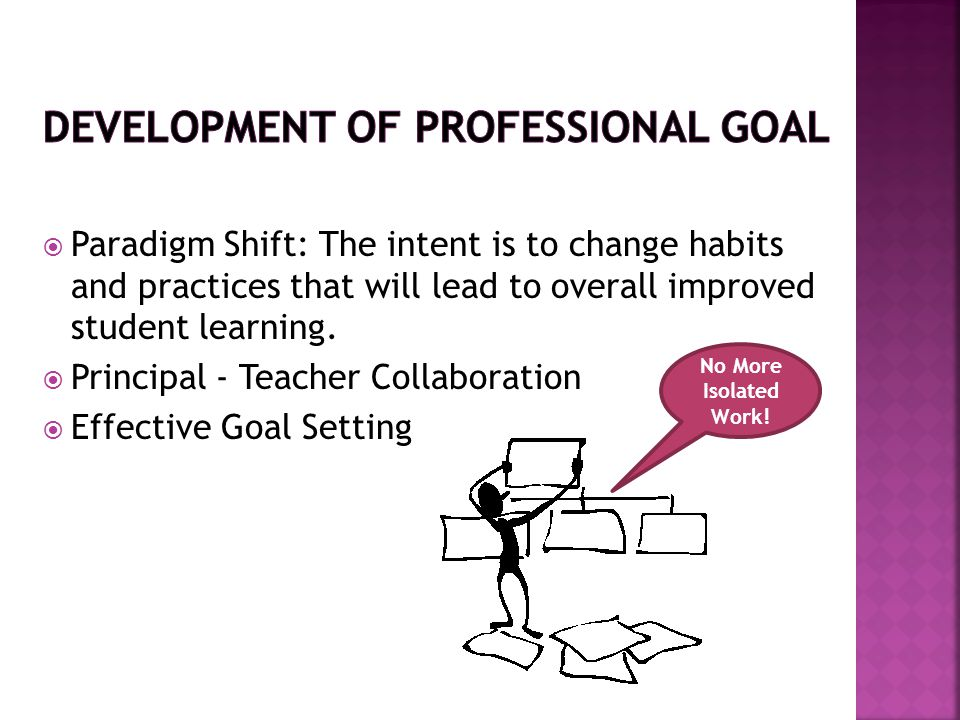 Development of Professional Goal