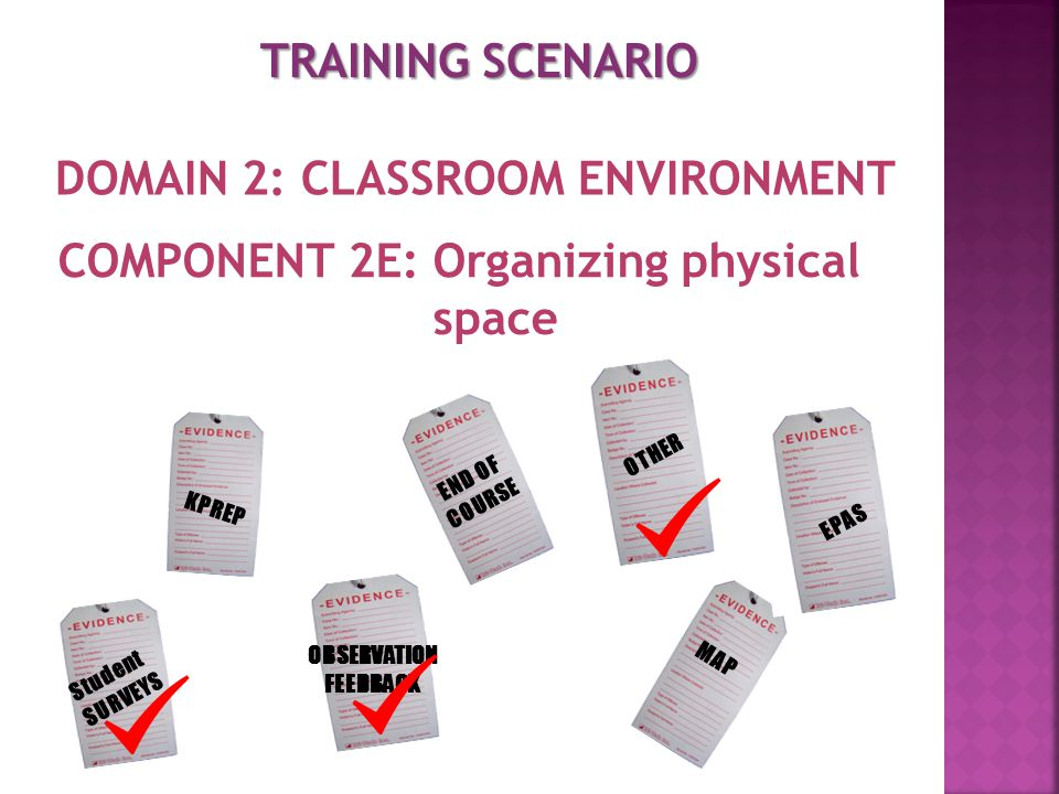 DOMAIN 2: CLASSROOM ENVIRONMENT