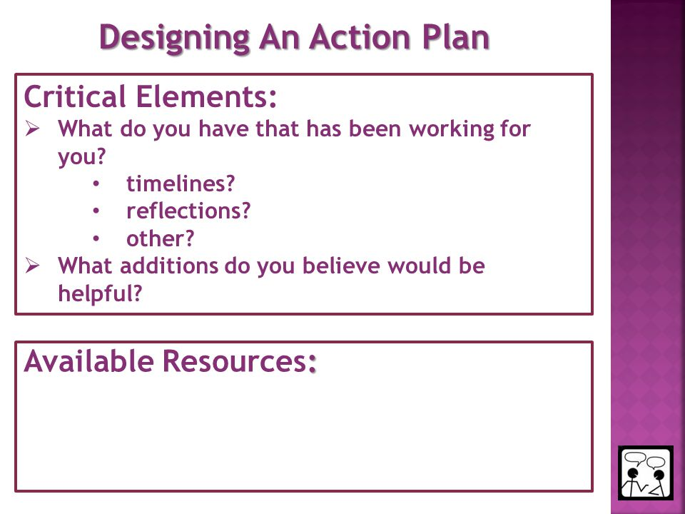 Designing An Action Plan