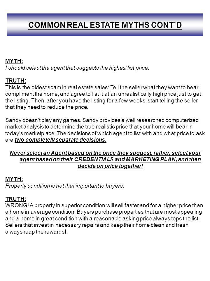 Sandy Miller Home Selling Information Package Ppt Download