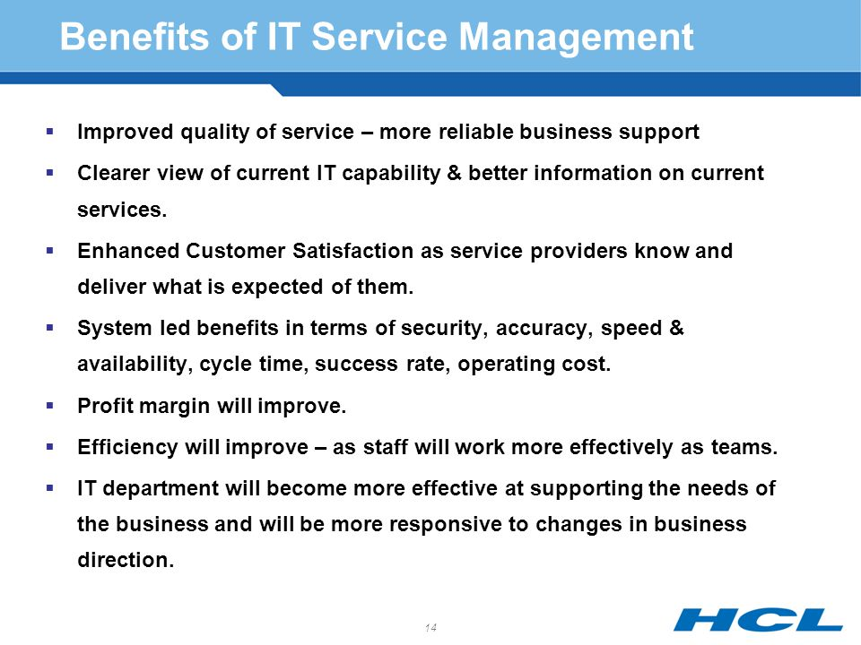 Col t l sharma head quality processes ppt download benefits of it service management fandeluxe Gallery