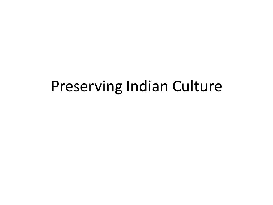 Indian culture and western culture essay