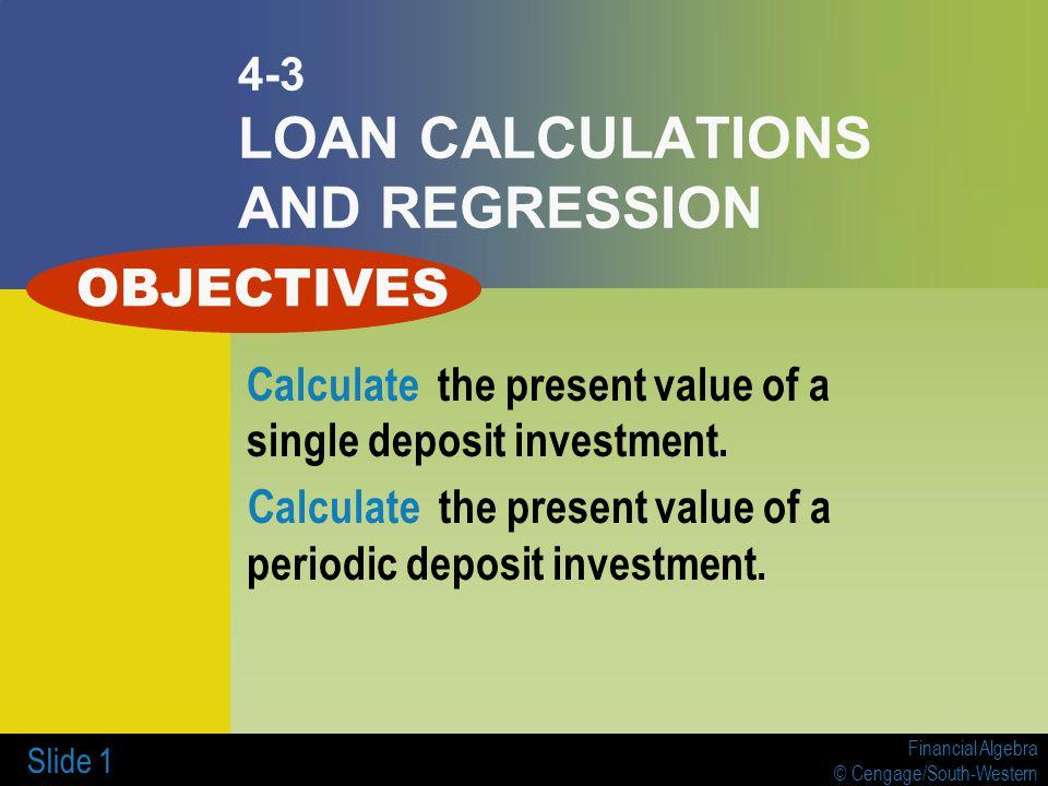 loan calulations
