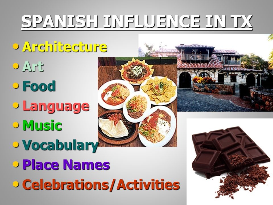 spanish influence By habeeb salloum/contributing writer throughout the ranks of the travelling public in the western world the name of spain, especially andalusia, is synonymous with dark haired beauties, flowers, splendid processions, light-hearted gaiety, the halo of enchanted patios and romance.
