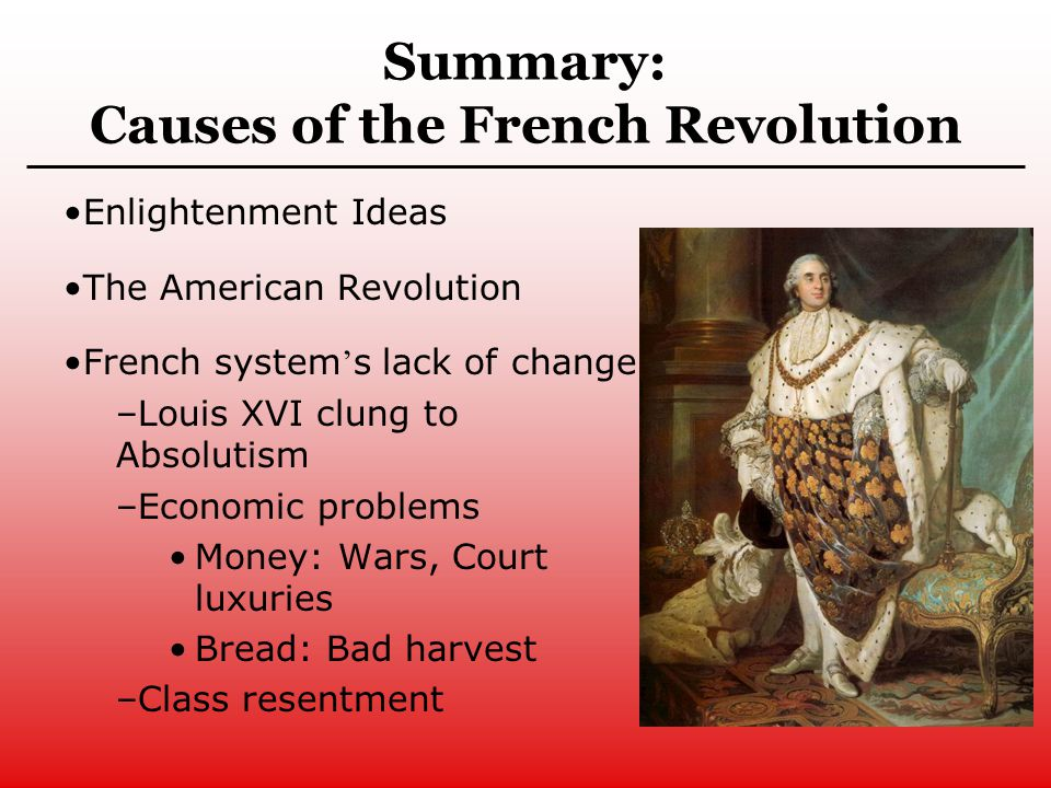 french revolution background notes French revolution include the key events, causes, effects and key players of  french revolution' and find homework help for other history questions at enotes.