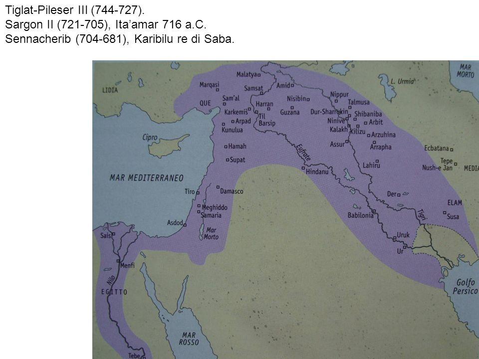 Tiglat-Pileser III (744-727).