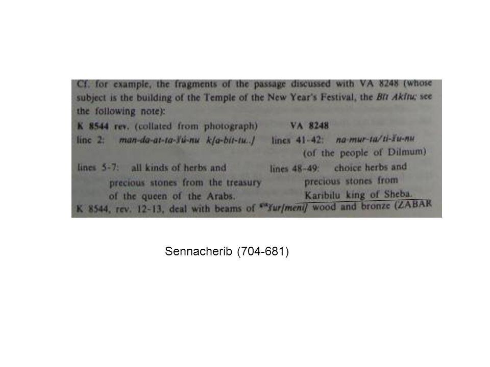 Sennacherib (704-681)