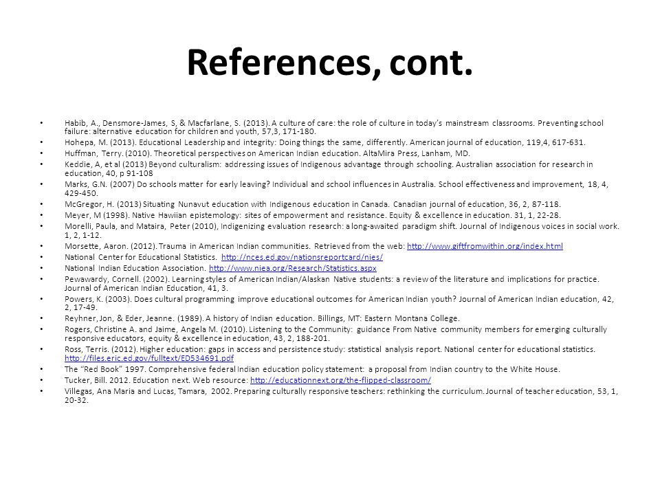 References, cont.