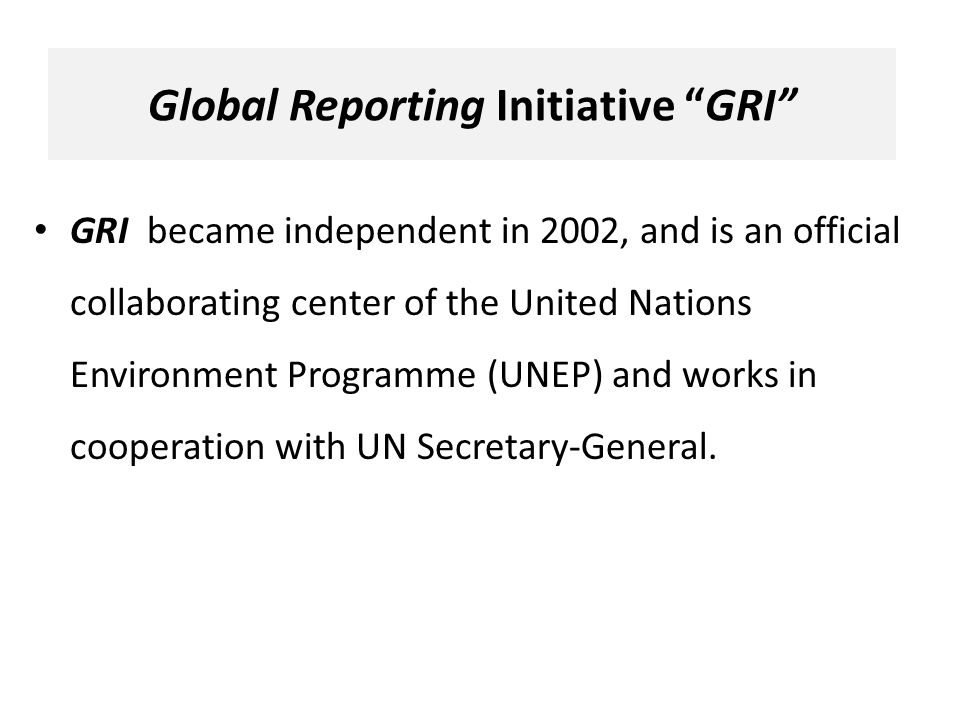 global reporting initiative sustainability reporting guidelines 2002