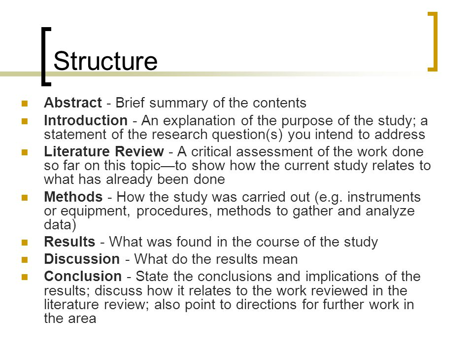 Writing a literature review ppt download - Structure lit 180x200 ...