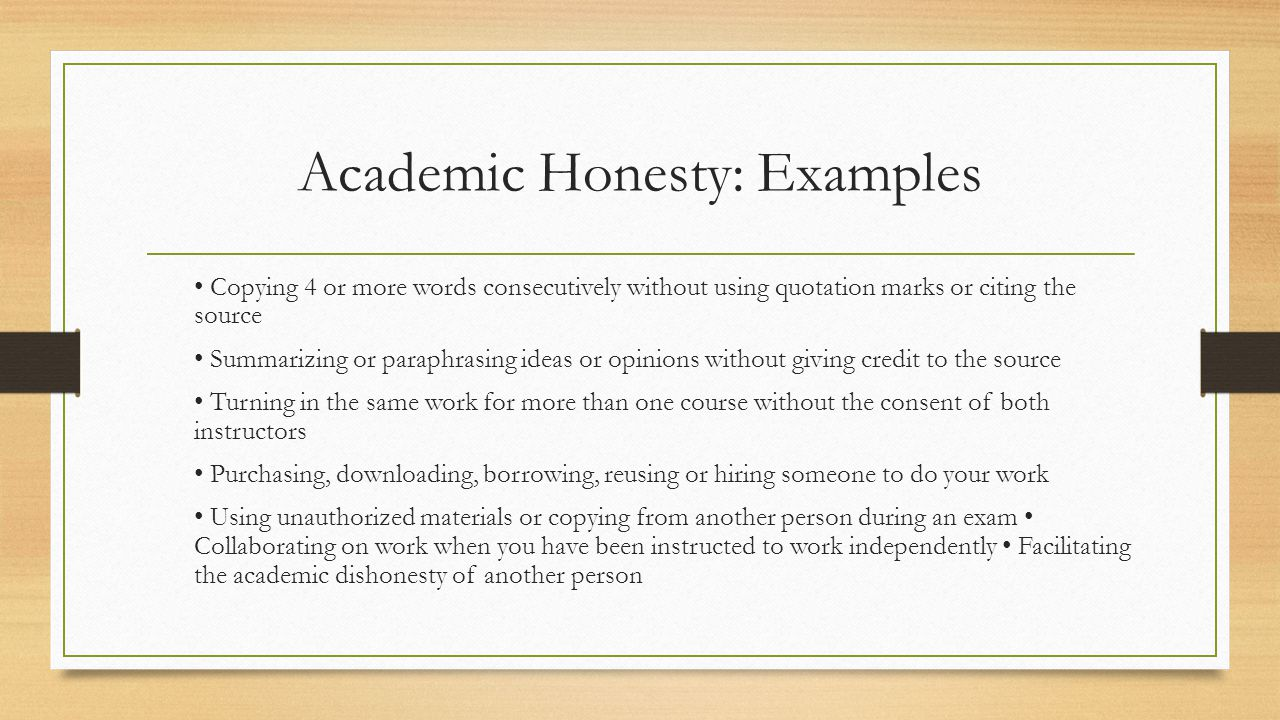 Essay on Honesty