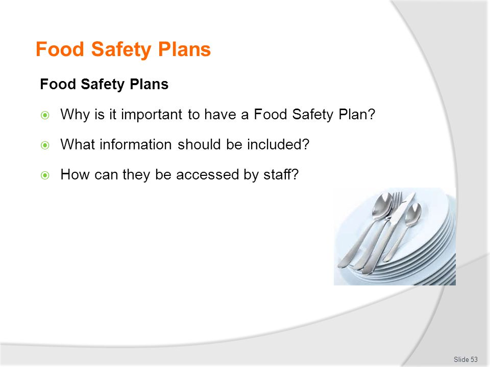Becoming A Food Safety Trainer