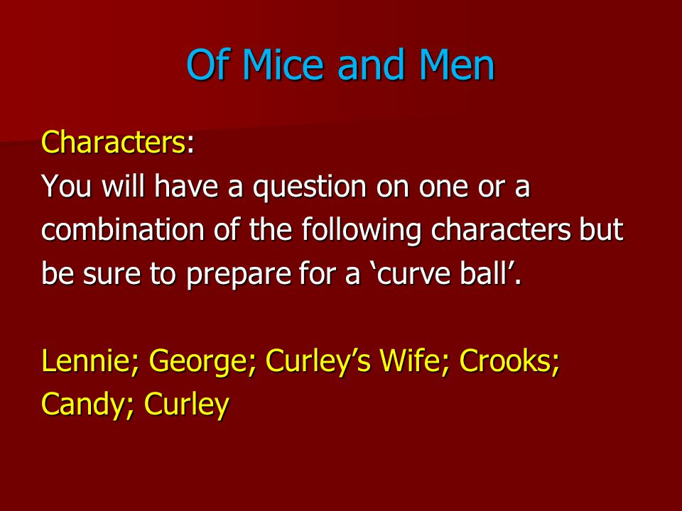 of mice and men crooks essay writer