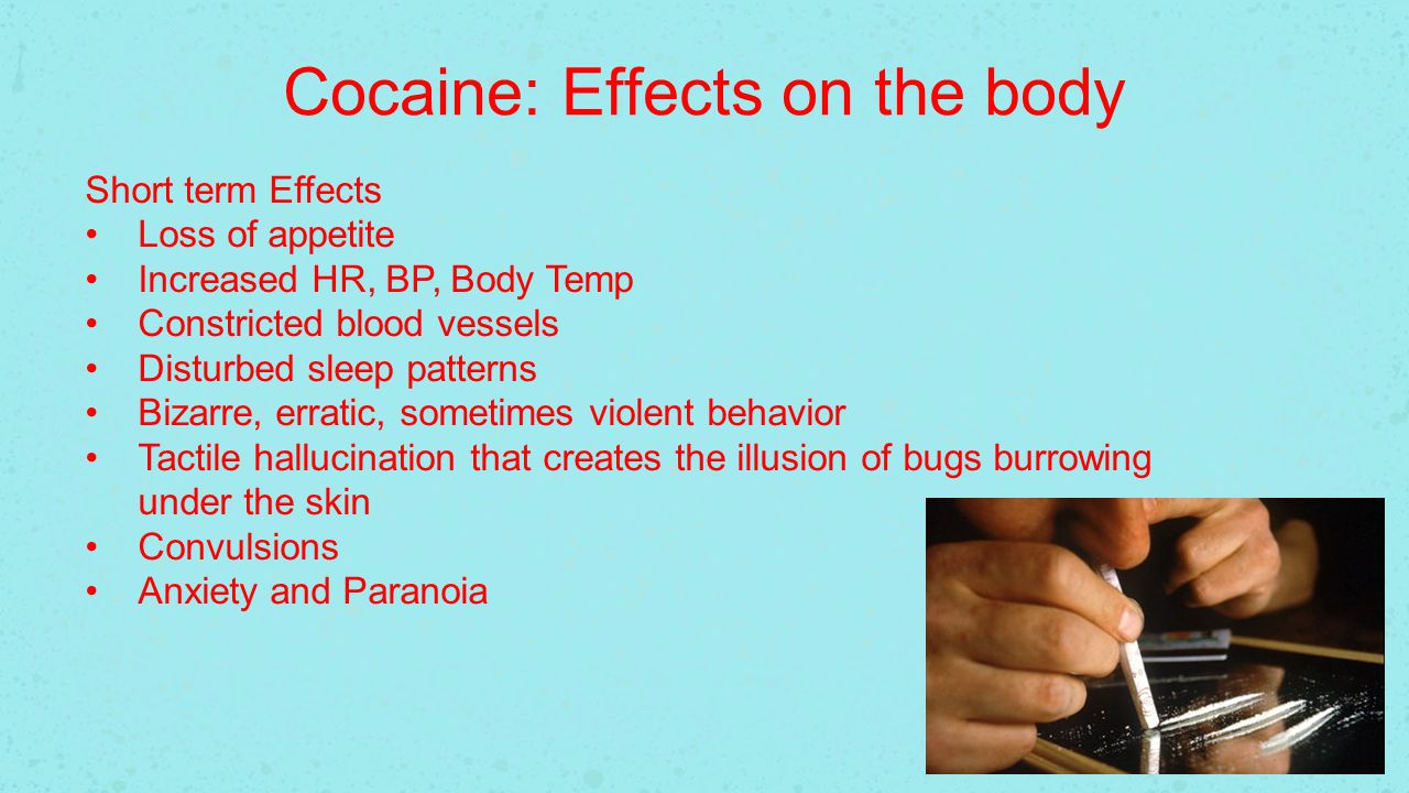 cocaine and it effcts on tha The impact of bullying bullying has a negative impact on everyone involved the target, the bully and the bystanders or other drugs impact on schools.