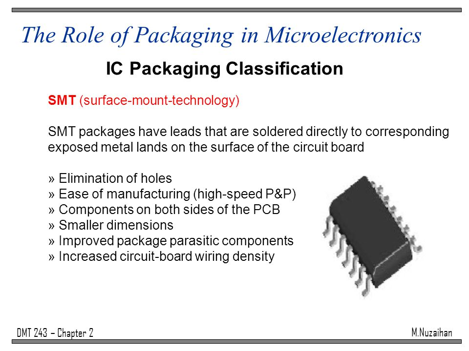IC Packaging Classification