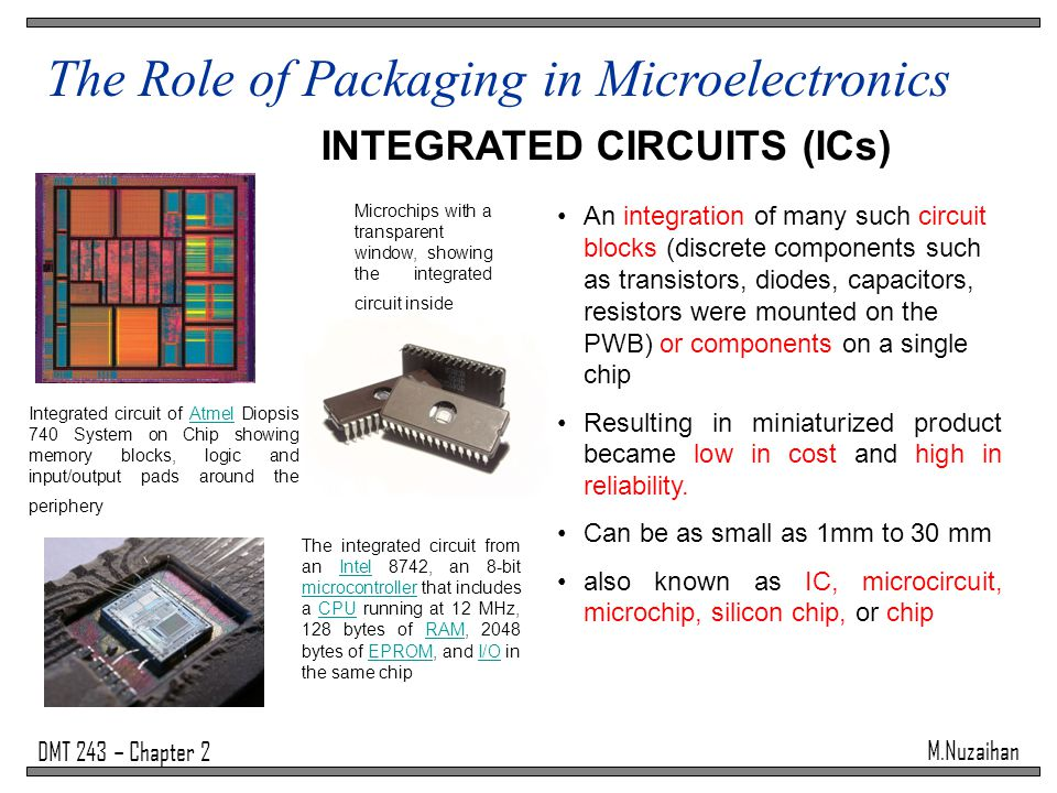 INTEGRATED CIRCUITS (ICs)