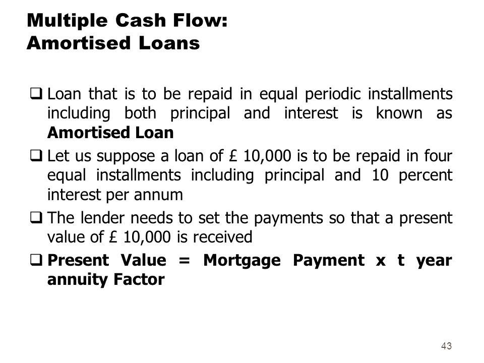 amortised loan
