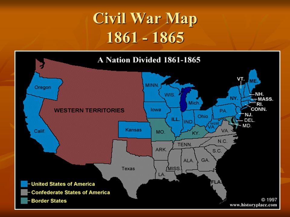 The Civil War Amp Reconstruction 1860 1877 Part 1 Ppt