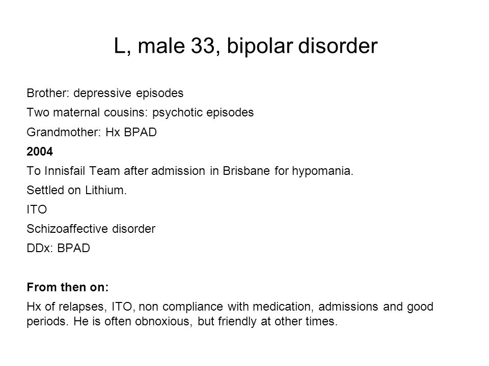analytical essay bipolar disorder Depression and mania can be divided into three different subcategories: bipolar 1 disorder, bipolar 2 disorder, and cylothymia these three categories all result in many for of symptoms and causes, some including depression, irritability, loss of sleep, weight gain, and anxiety.