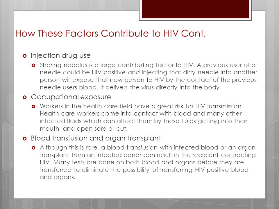How Does HIV Affect the Body?