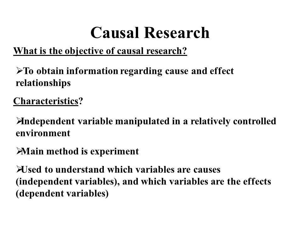 define causal research Looking for online definition of causal in the medical dictionary causal explanation free what is causal meaning of causal medical term what does causal mean.