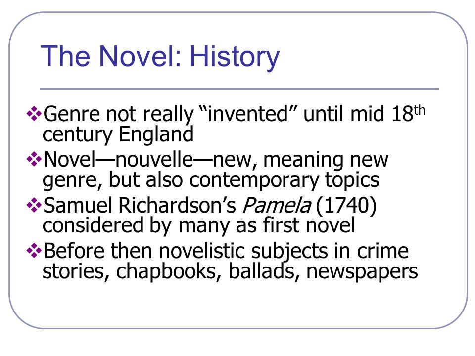 The Early American Novel Ppt Video Online Download