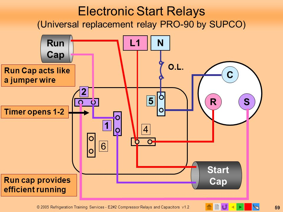 compressor start relay diagram   30 wiring diagram images