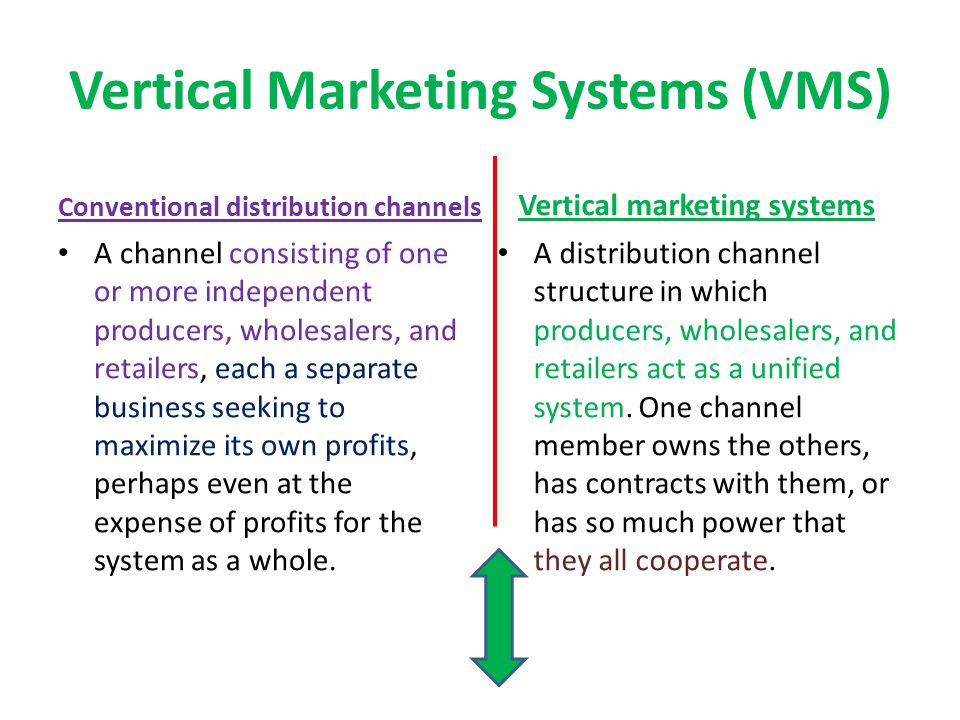 Vertical Marketing Systems (VMS)