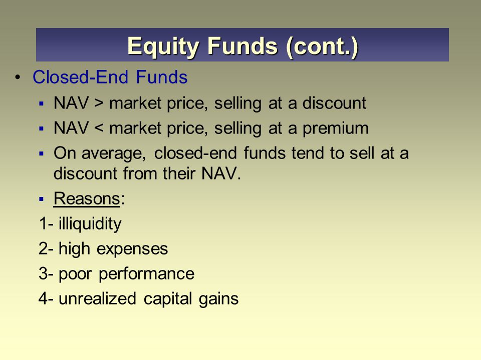 how to choose a closed end fund