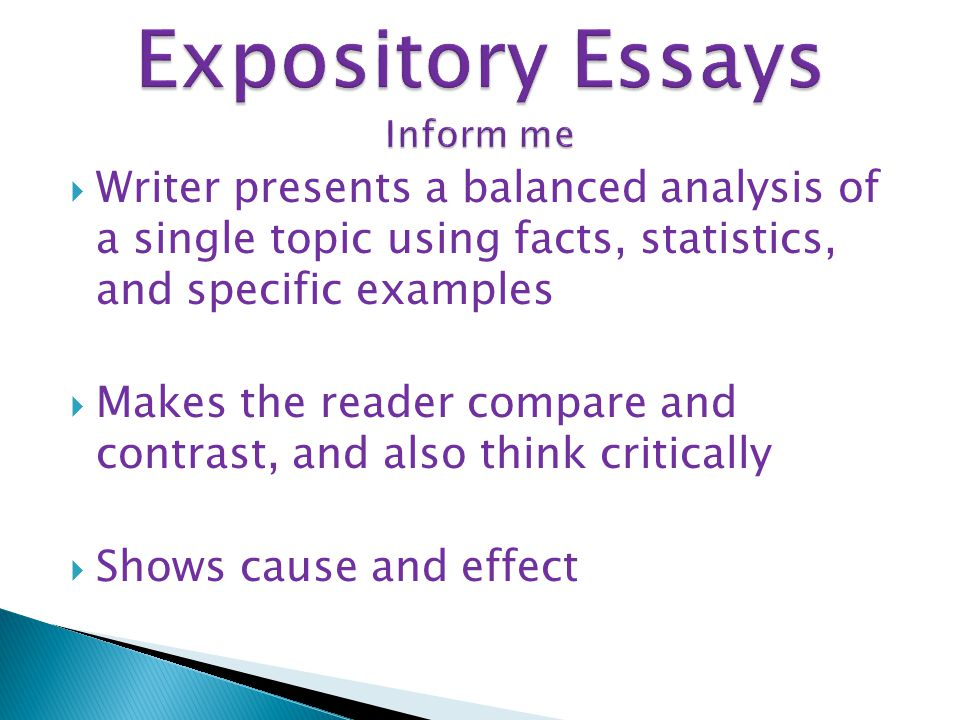 expository essay maps Spooky Expository Essays