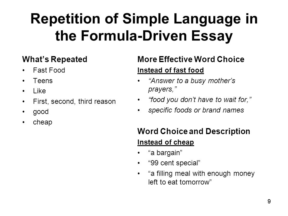 fast food 15 essay The tools you need to write a quality essay or fast food has affected with a 11% rise in the consumption of fast food word count: 3838 approx pages: 15.