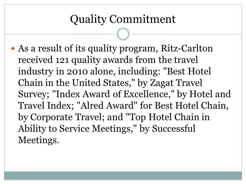 Ritz Carlton The Case For Service  Ppt Video Online Download